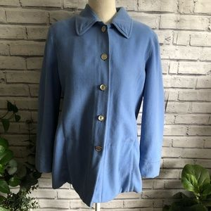 Escada • Vintage Light Blue Coat